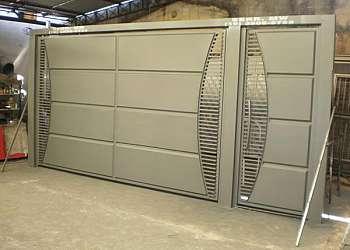 Serralheria portão eletrônico